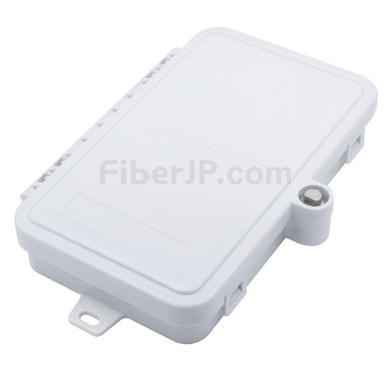 4ポート FTB-112 ウォールマウント光成端箱(ピグテールとアダプタなしの画像